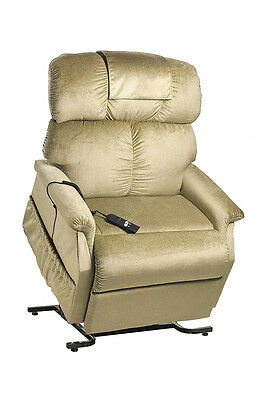 Cq Comforter Chair – Wide Power Lift And Recline Armchair Reinforced Frame  Padd