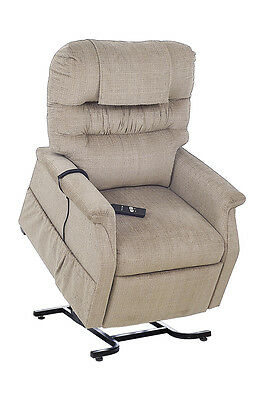 Cq Supreme Chair Power Lift & Recline Armchair Padded Synchronised  Legrest With