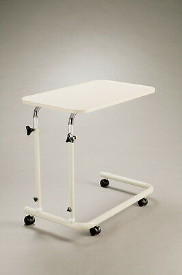 Cq Overbed Overchair Lightweight Mobile Table Adjustable Height And Angle Soft R