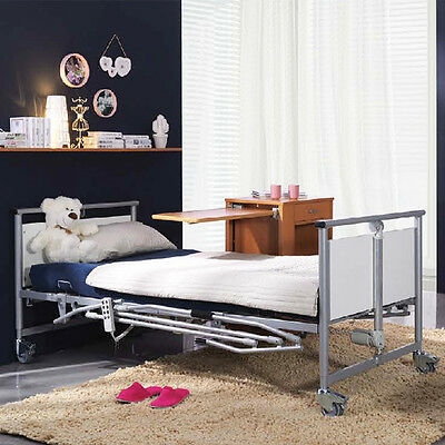 Cq Eurocare Prosaic Electric Bed With Self Help Pole & Rails Electric High/low F