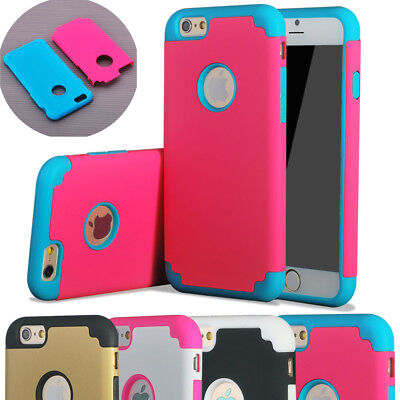"""10/Lot CASE FOR 5.5"""" iPhone 6 6S Plus HYBRID SHOCKPROOF RUGGED TPU COVER"""