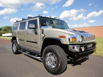 2005 Hummer H2 SUV 2005 HUMMER H2 LOW MILES LOADED NAV REAR BACK UP CAM WOW CLEAN CARFAX WE FINANCE