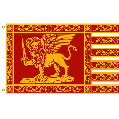 Large Republic of Venice Flag Most Serene Republic of Venice Flag 3x5 banner