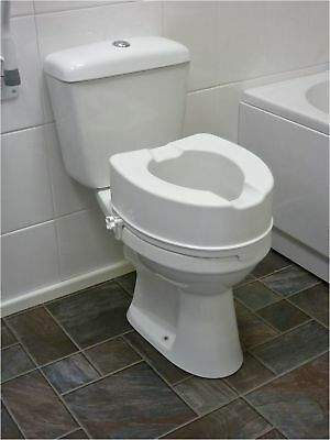6 Inch Raised Toilet Seat without Lid From the Official Argos Shop on ebay