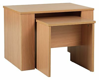 HOME Hamilton Nest of 2 Tables - Oak Effect. From the Argos Shop on ebay V101085