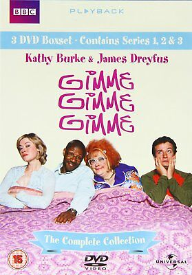 Gimme, Gimme, Gimme : The Complete BBC Boxset 123 DVD Collection Kathy Burke NEW