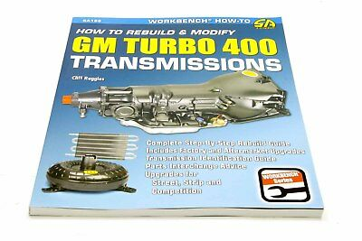 S-A Books How to Rebuild and Modify TH400 Transmissions P/N 186