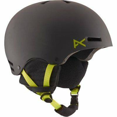 Anon Men's Raider Helmet Black/Green Large/59-61CM (FREE DELIVERY!!)
