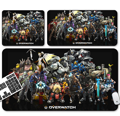Hot Game Overwatch Mouse Pad Profession PC Large Mats Muti-size 02