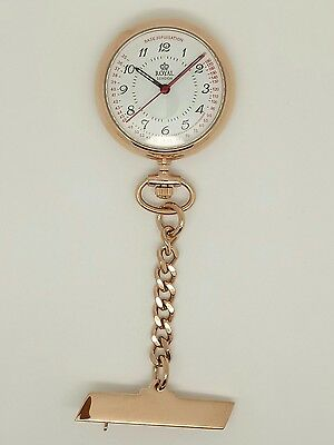 nurse fob watch rose gold by Royal London 21019-03 RRP £59.99