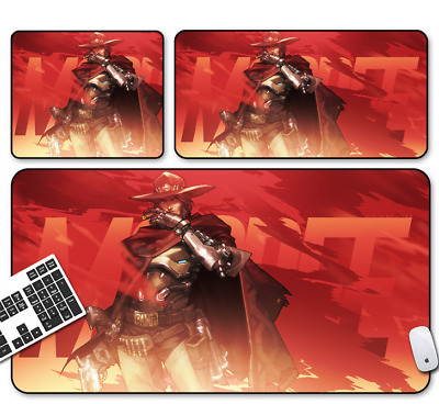Game Overwatch MCCREE Mouse Pad Profession PC Large Mats Muti-size 011