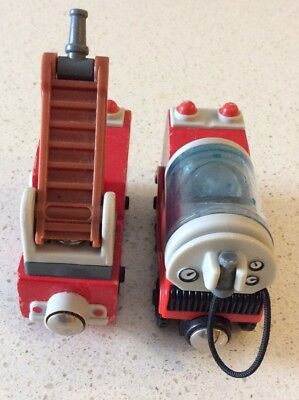 Thomas Tank Engine Wooden - Hook & Ladder And Water Tanker
