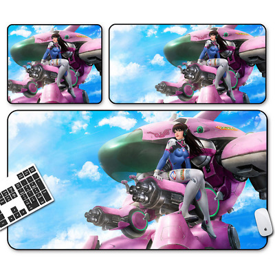 Game Overwatch D.VA Mouse Pad Profession PC Large Mats Muti-size 022