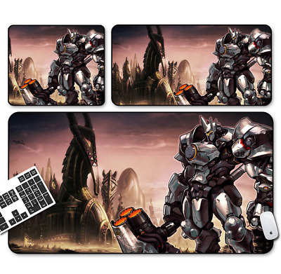 Game Overwatch REINHARDT Mouse Pad Profession PC Large Mats Muti-size 23