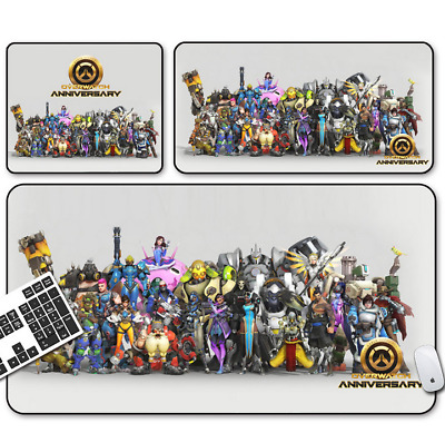 Game Overwatch Mouse Pad Profession PC Large Mats Muti-size 027