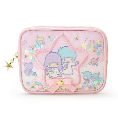 Little Twin Stars Tissue Pouch (Organdy) SANRIO from Japan kawaii SHIPPING FREE