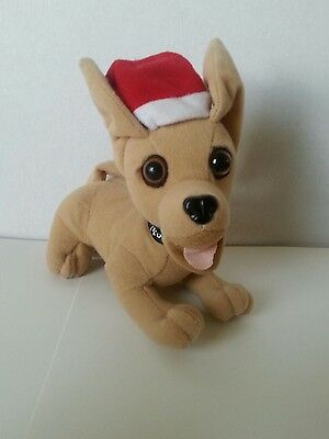 "Yo Quiero Taco Bell Talking Chihuahua Christmas Santa Hat 6"" Plush - Applause"