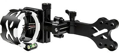 Hoyt - Pro Xceed MICRO ADJUST 5 Pin Fiber Optic Black Sight