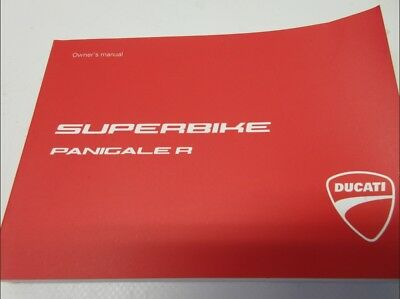 Ducati Panigale R 2017 1199 English Language 91373151D owners manual