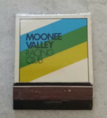 Collectable Moonee Valley Racing Club matchbook