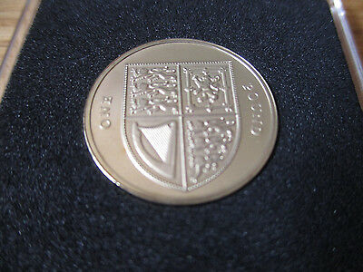 ~~ 2010 Royal Mint - Royal Shield - Proof £1 One Pound Coin ~~