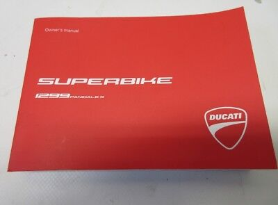 Ducati Panigale 1299 S English Language 91372811D owners manual 2015
