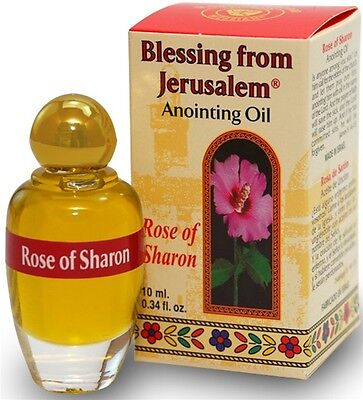 Anointing Oil 10ml Rose of Sharon from Israel. FREE DELIVERY