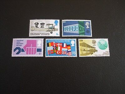 Events Anniversary Great Britain 1969 Commemorative Stamps