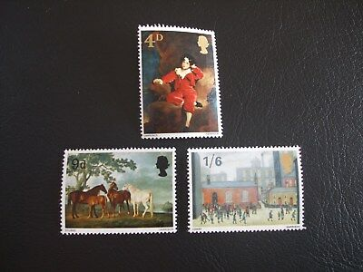 British Paintings Great Britain 1967 Commemorative Stamps