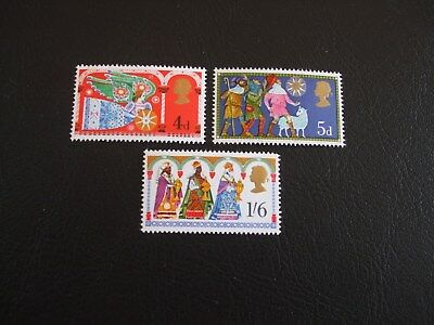 Christmas Great Britain 1969  Stamps
