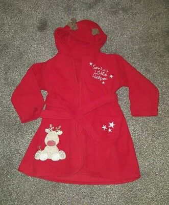 Christmas Dressing Gown 18-24 months