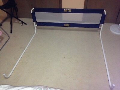 Single Bed Rail - Bunk Fall Safety - for Child or Toddler - Fabric side wall