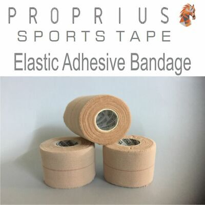 6x50mm EAB Elastic Adhesive Bandage Sports,Rugby,Shoulder,Vet Strapping Tape