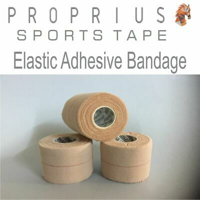 EAB Elastic Adhesive Bandage 6x50mm  Sports,Rugby,Shoulder,Vet Strapping Tape