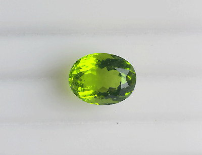6.35 Ct Lovely Fancy Cut Oval Shape Peridot Loose Gemstone