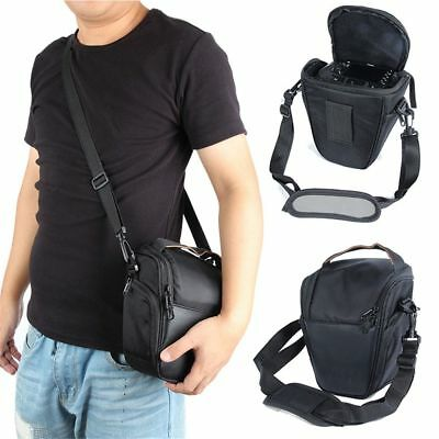 Triangle Black Camera Bag Backpack SLR Case for Canon Nikon Sony SLR DSLR Nice