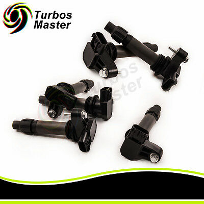 6x Ignition Coils Coil for Holden Commodore Crewman Statesman VE VZ WL WM V6 3.6