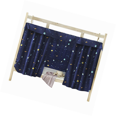 Bed Curtain Single Sleeper Bunk Bed Bunk Tent Curtain Bedding Black Out Sleep Ca