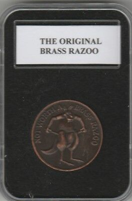 The original BRASS RAZOO cased