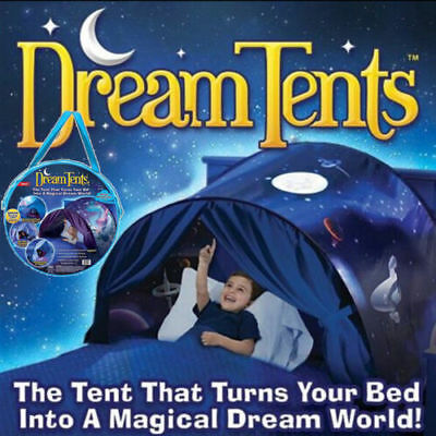 Kids Children Space Adventure Dream Tent Portable Foldable Outdoor Camping Tent