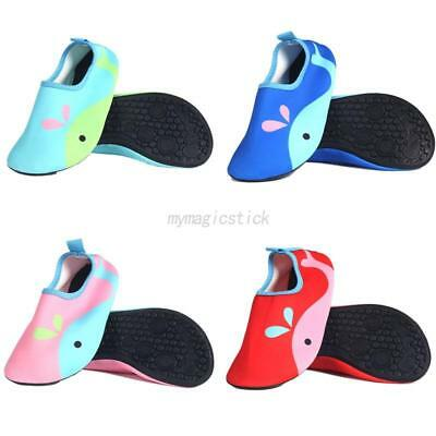 Water Shoes Kids Childrens Boys Girls Cartoon Beach Swim Pool Shoes Quick Dry