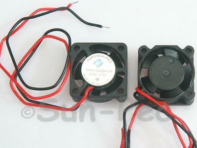 Sleeve Bearing DC Cooling Fan 150mA 25x25x10mm 5V 2pcs for Chip PCB Audrino