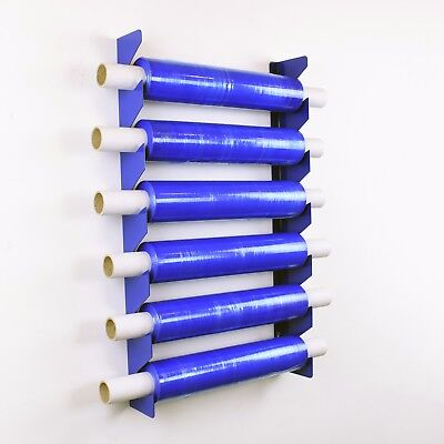Heavy Duty Shrink Wrap Stretch Pallet Film Reel Roll Holder Dispenser Store Tidy