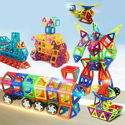 Building Block Magnetic Toy Truck Educational Game 48Pcs Big Size Magic Present