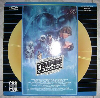 L'empire Contre-Attaque Laserdisc