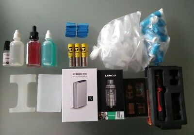 !!! Cuboid 200w Tc + Lemo 3 + Wismec Theorem + RR2 + Batteries etc Bien lire !!!