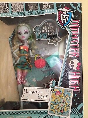 Monster High Lagoona Blue Doll Toy Picture Day Boxed Brand New christmas