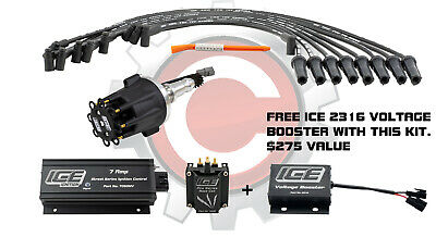 ICE Ignition NEW 7 AMP Street Kit; 1969-87 Holden 253-308 with Flat Tappet cam