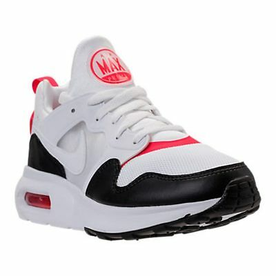 the best attitude b16b9 5f577 Nike Air Max Prime White / Siren Red Running Shoes Men's Select Your Size