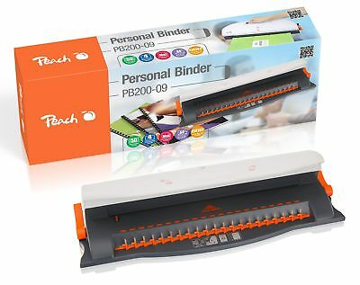 Portable Comb Binder Personal Binder A4 With 20-Piece Starter Set Office Home